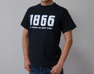 薩長同盟Tシャツフロント