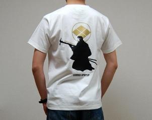 高杉晋作デザインTシャツ(バック)