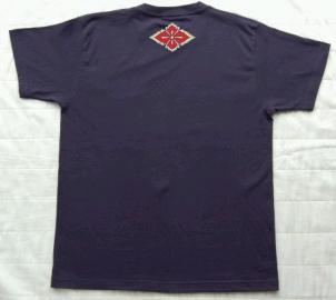 武田信玄Tシャツ(バック)