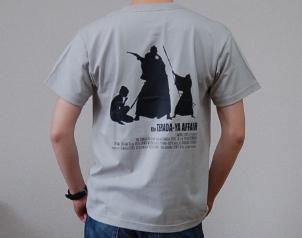 坂本龍馬「寺田屋事件」Tシャツ背面